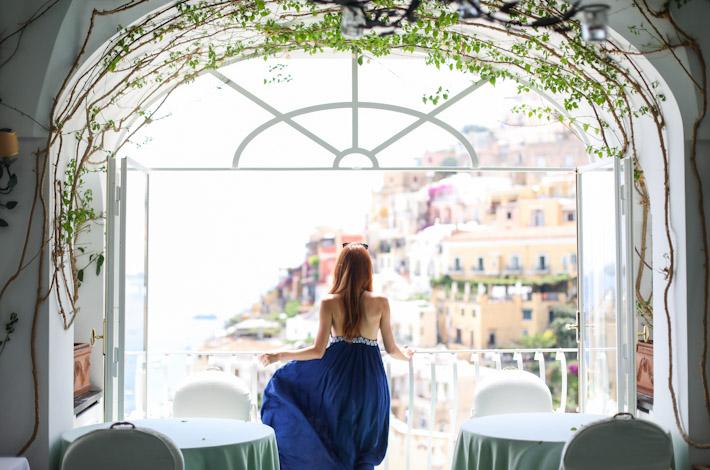 Le Sirenuse Restaurant View