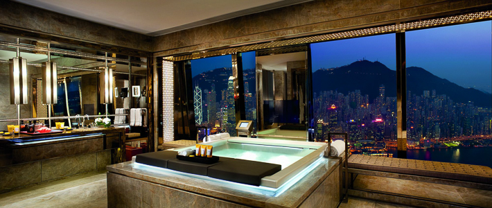 Ritz Carlton Hong Kong Suite