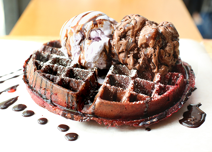 Route 66 Waffles
