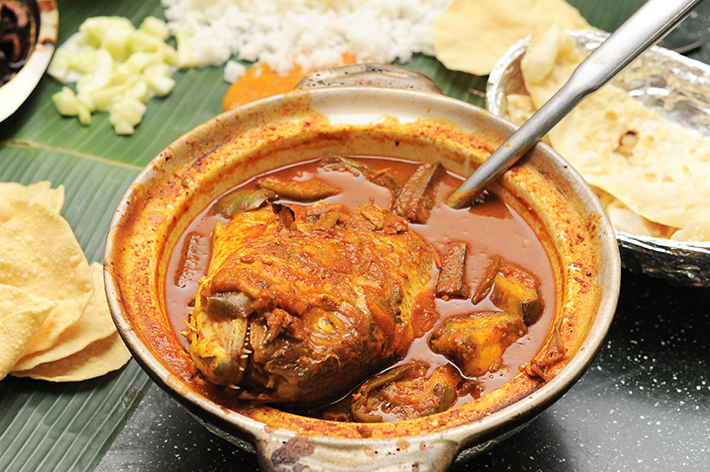 Samy Fish Head Curry