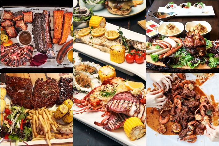 Sharing Meat Platters Singapore Collage