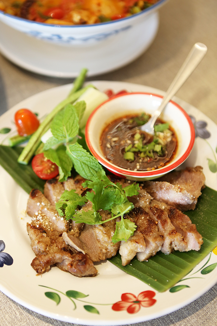 Un Yang Kor Dai Grilled Pork Neck