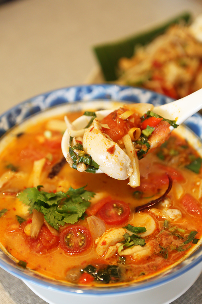 Un Yang Kor Dai Tom Yum Chicken