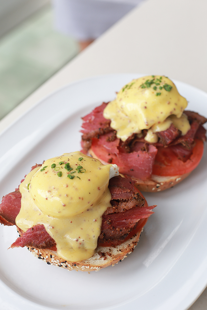 Wild Honey Eggs Benedict