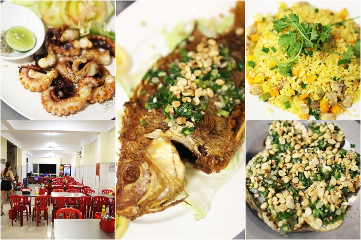 33 De Tham Restaurant Collage