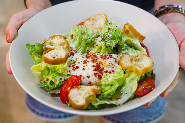 Daily Affairs Modern Caesar Salad