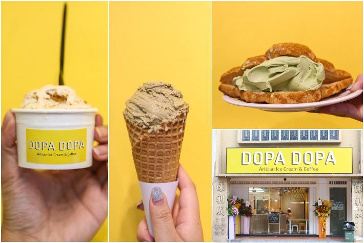 Dopa Dopa Creamery Collage