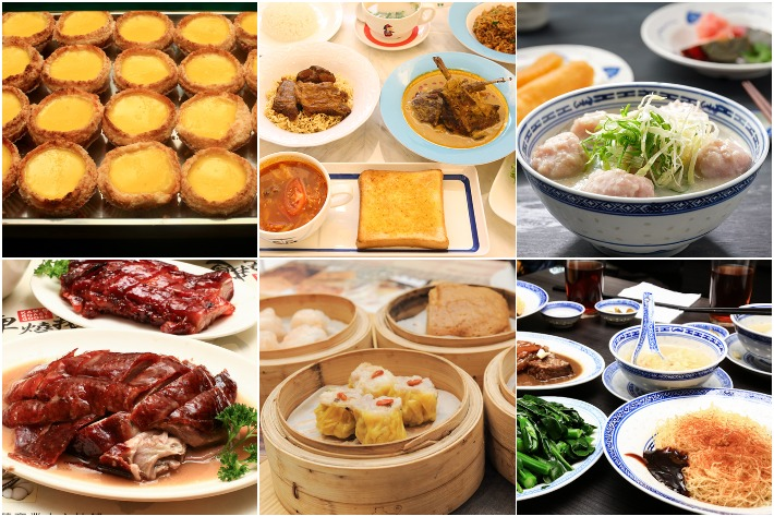 Hong Kong Food Concepts in SG Collage