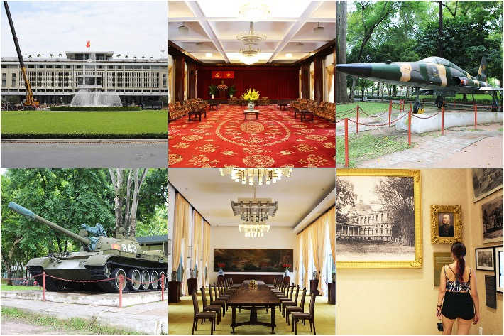 Independence Palace Collage