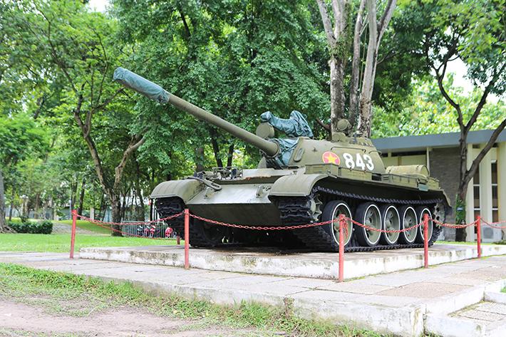 Independence Palace Tank Exhibit