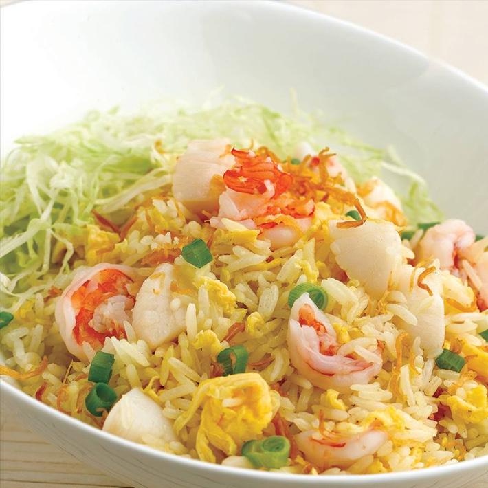 Jumbo Seafood Fried Rice