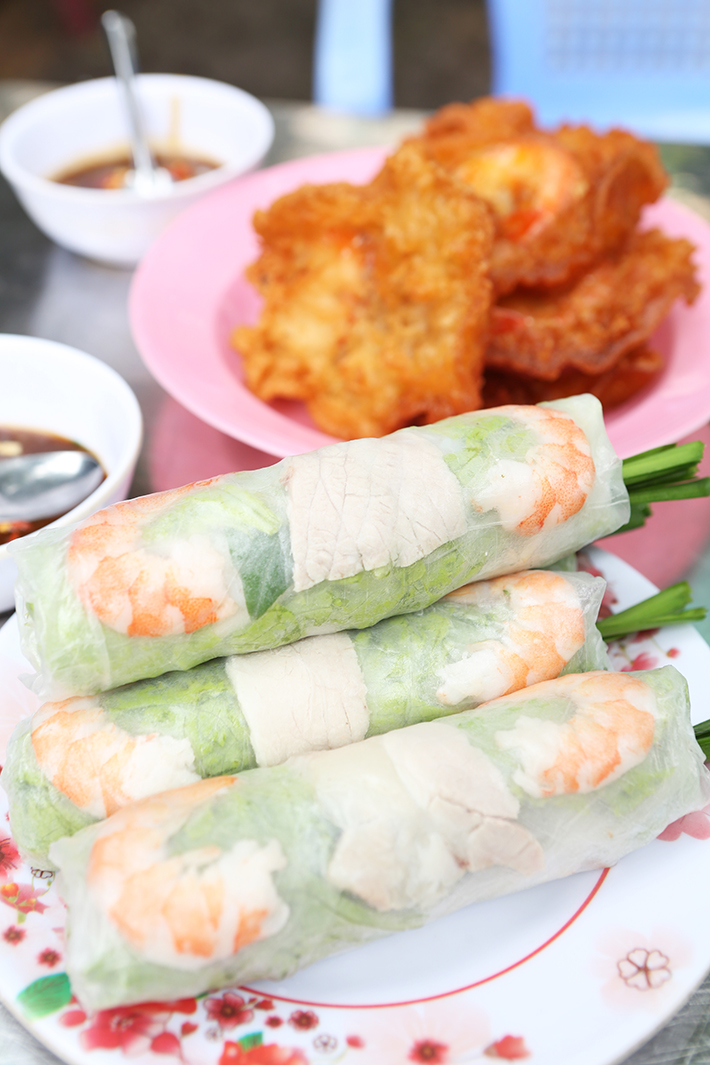 Lunch Lady Vietnamese Spring Rolls