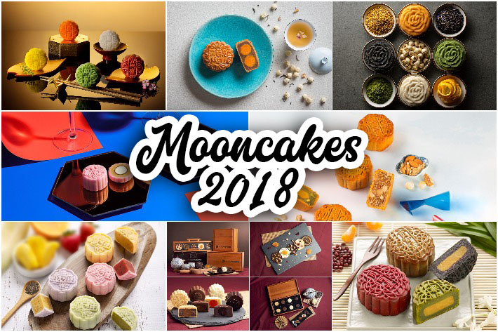 Mooncakes in Singapore 2018