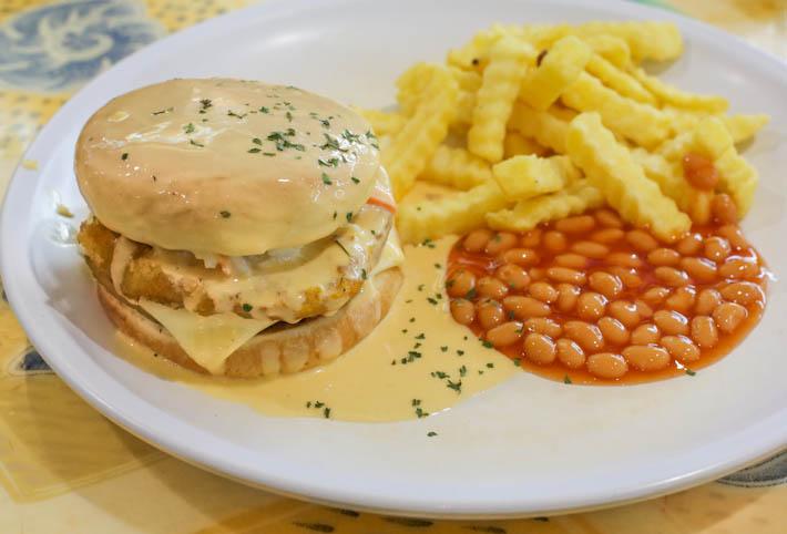 Nadims Delights Molten Cheese Burger
