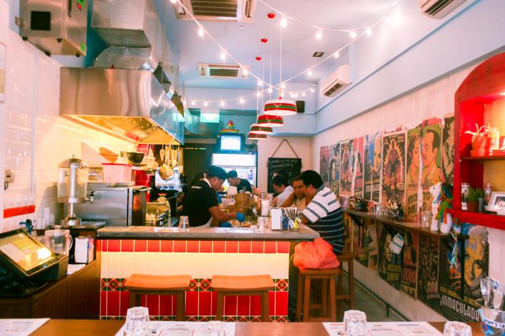 Papi's Tacos Interior