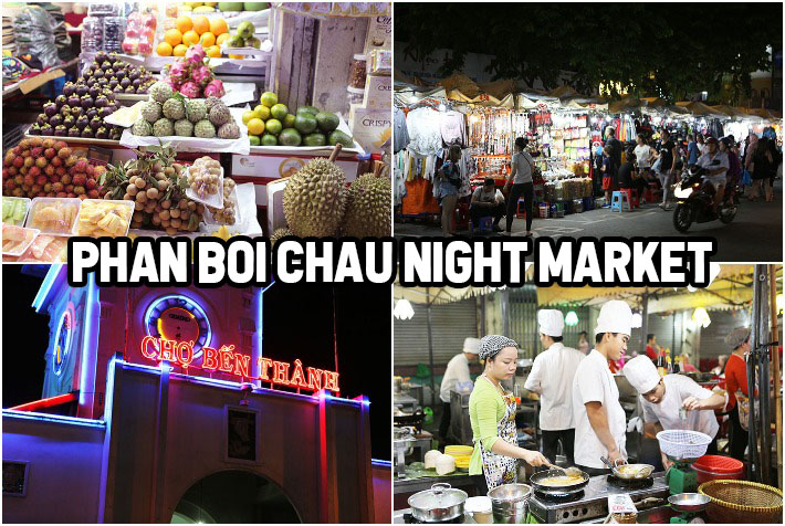 Phan Boi Chau Night Market HCMC