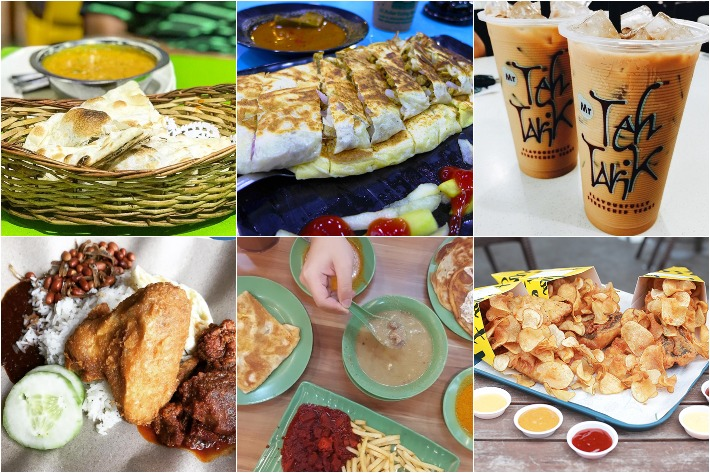 Supper Spots Collage