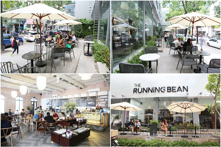 The Running Bean Interior and Exterior