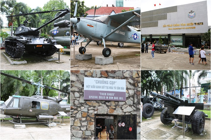 War Remnants Museum Collage