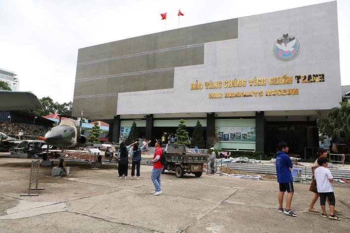 War Remnants Museum Exterior