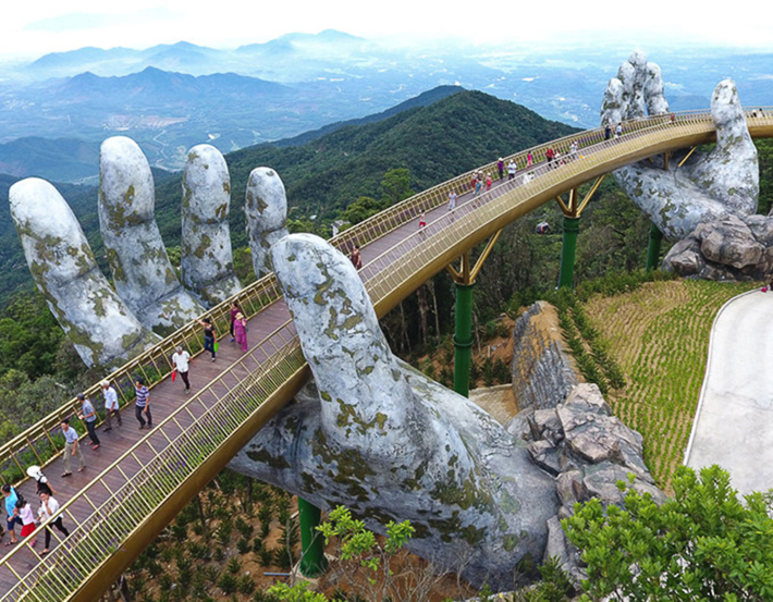 Vietnam Golden Bridge 3