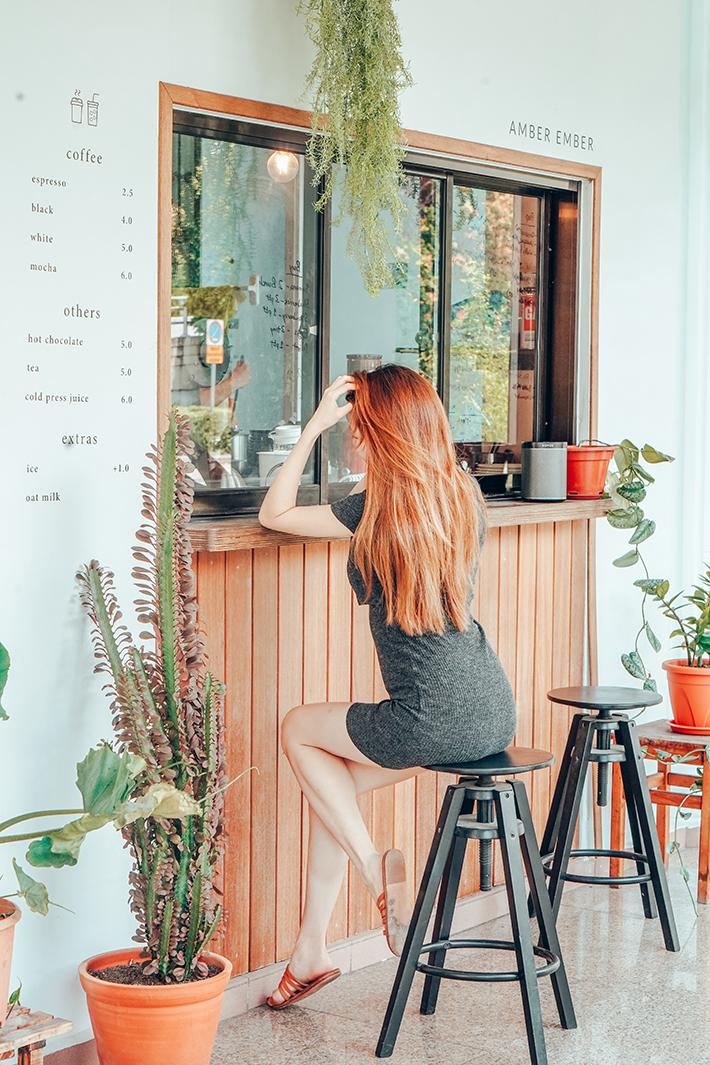 Amber Ember Cafe Exterior