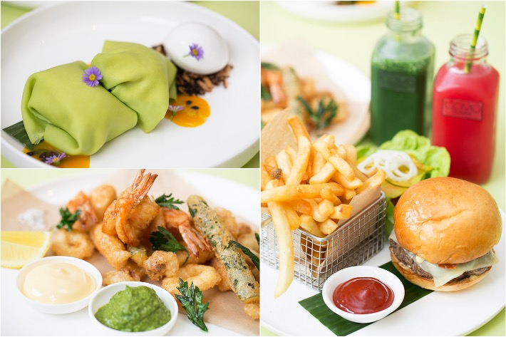 COMO Cuisine All Day Dining Collage