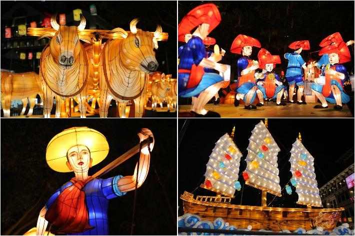 Chinatown Mid Autumn Festival Collage