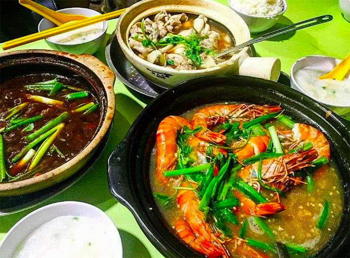 Dragon City Claypot Frog Porridge