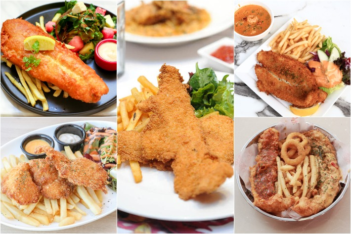 Fish And Chips Collage