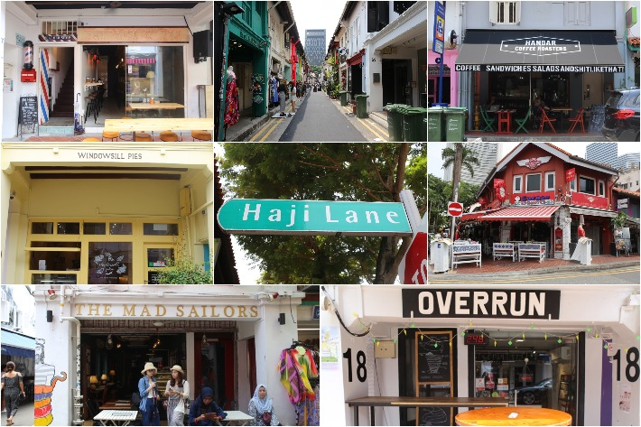 HAJI LANE FOODO COLLAGE