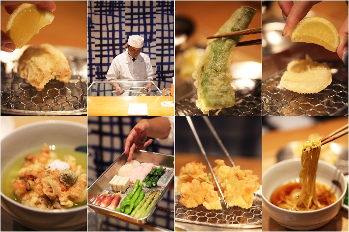 Ippoh Tempura Collage