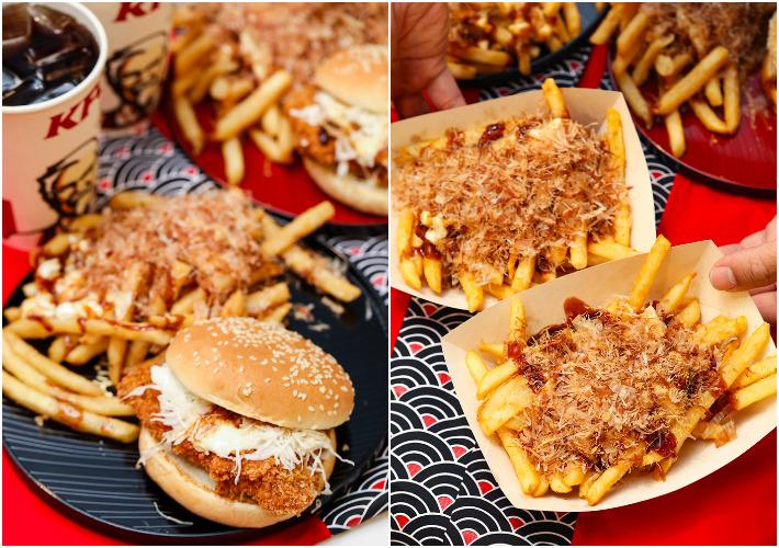 KFC Tori Katsu Burger