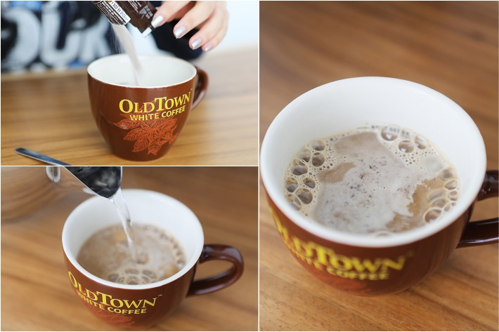 Old Town White Coffee Coffee Making