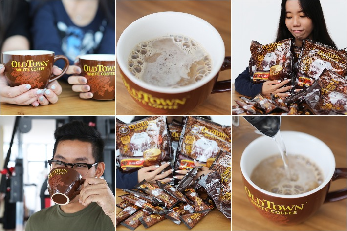 Old Town White Coffee Collage