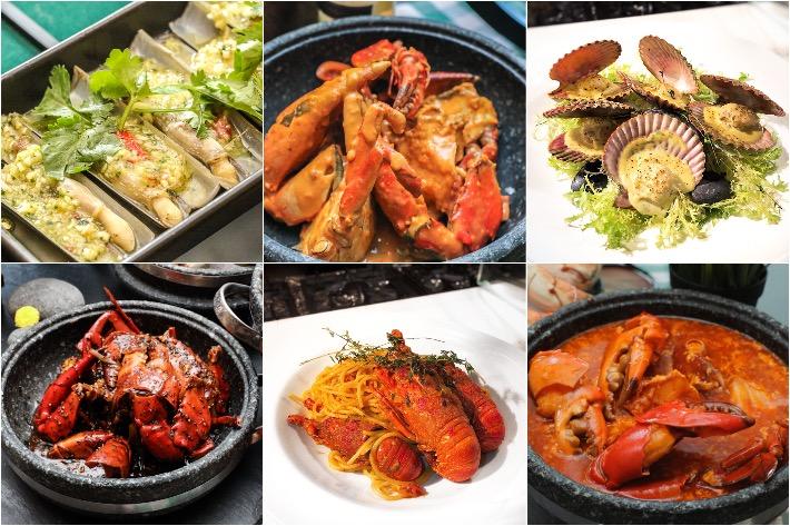 Spice Brasserie Collage