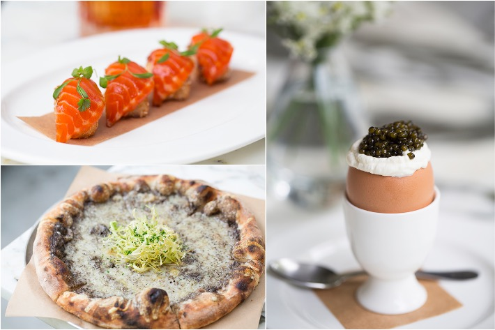 The Dempsey Cookhouse & Bar Starters Collage