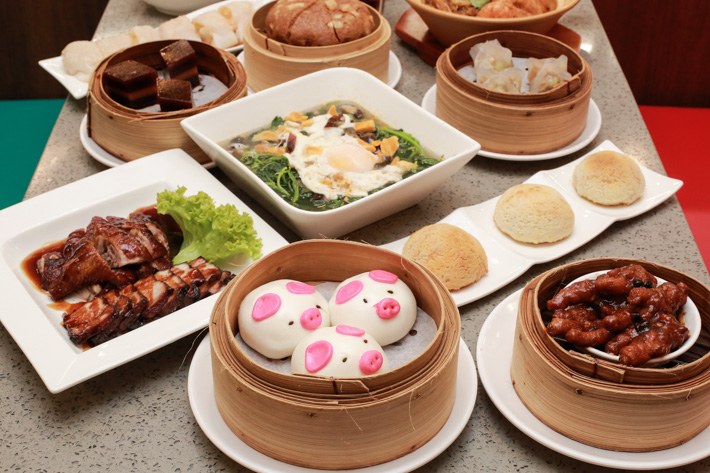 Tunglok Teahouse Piglet Buns
