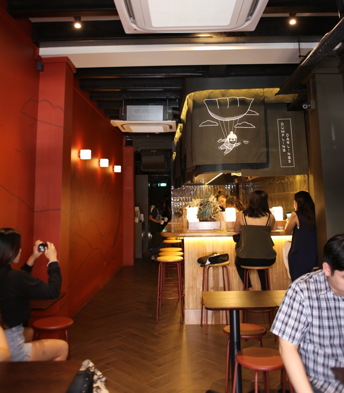 darling dumplings interior