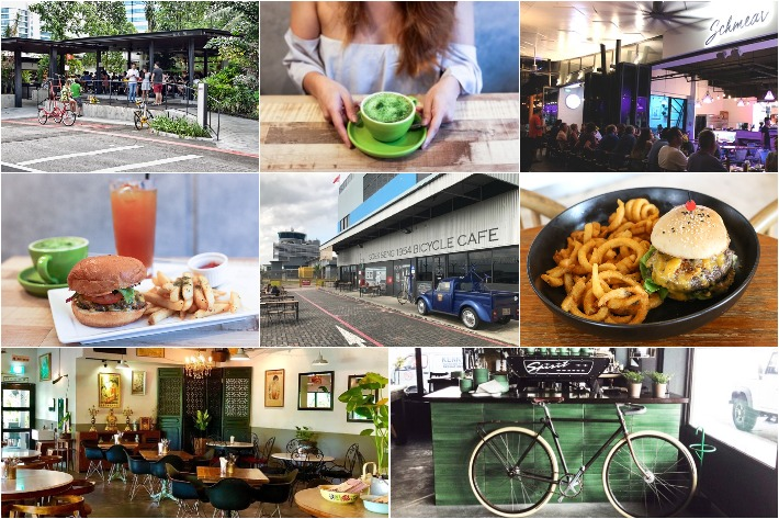 ULU CAFES COLLAGE