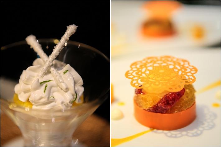 Bacchanalia Desserts Collage