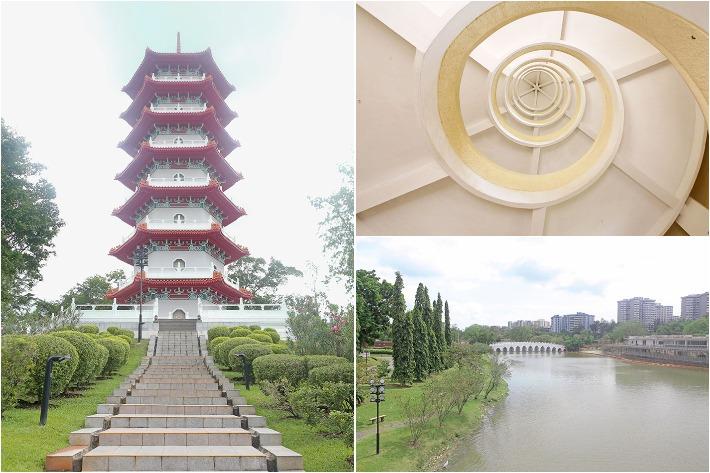 Chinese Garden Pagoda View