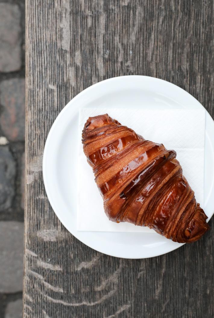 Democratic Coffee Croissant