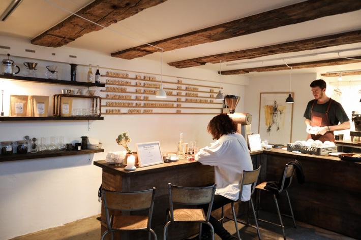 Kaffebaren Copenhagen Coffee Lab