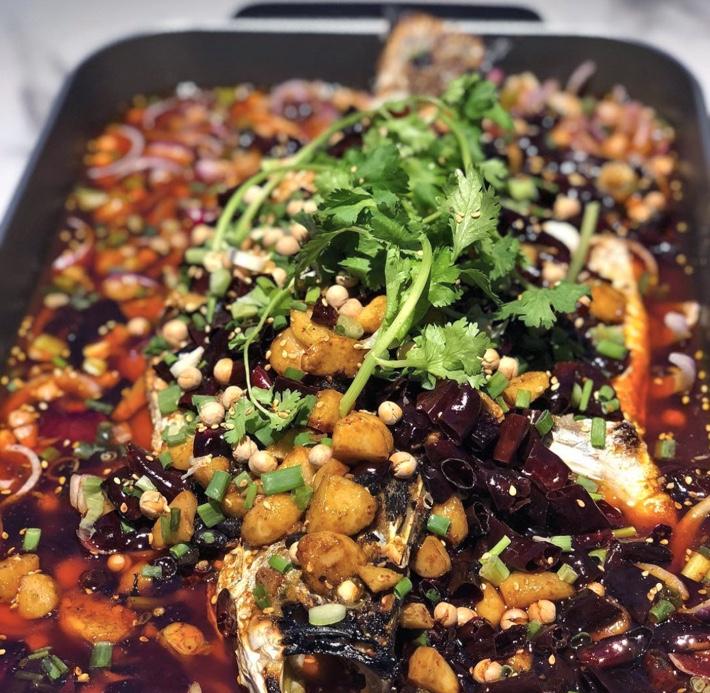 Orchid Roast Fish Kao Yu