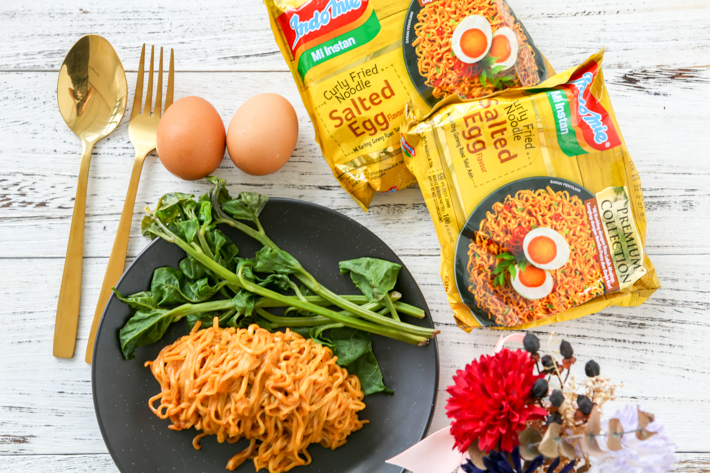 Salted Egg Indomie Cover