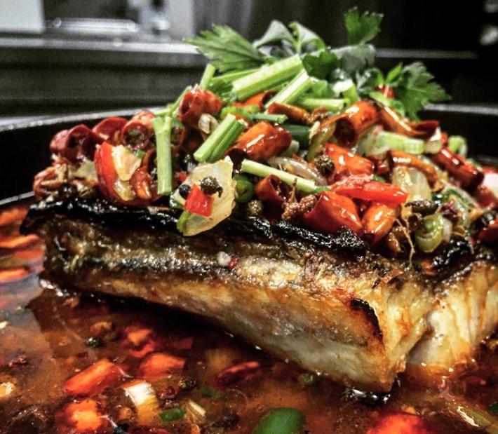 Shu Jiang Grilled Fish Kao Yu