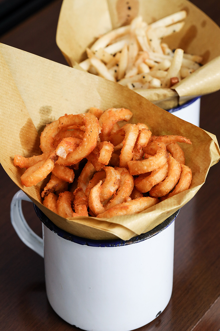 25 Degrees Curly Fries