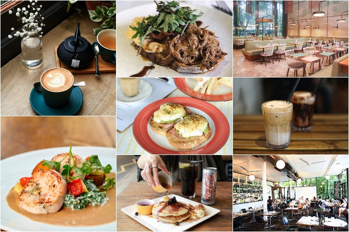 CHOPE Cafes Collage