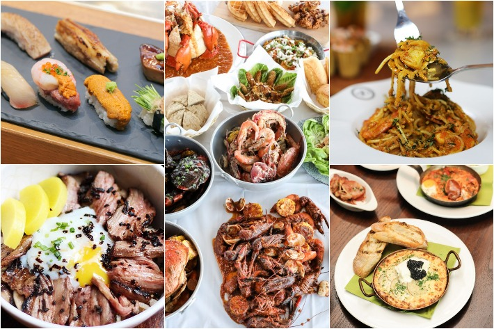 Chope Restaurant of the Year Collage
